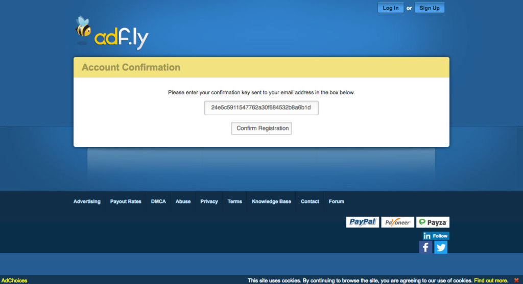 AdFly The URL shortener service that pays you Earn money for every visitor to your links.(3)